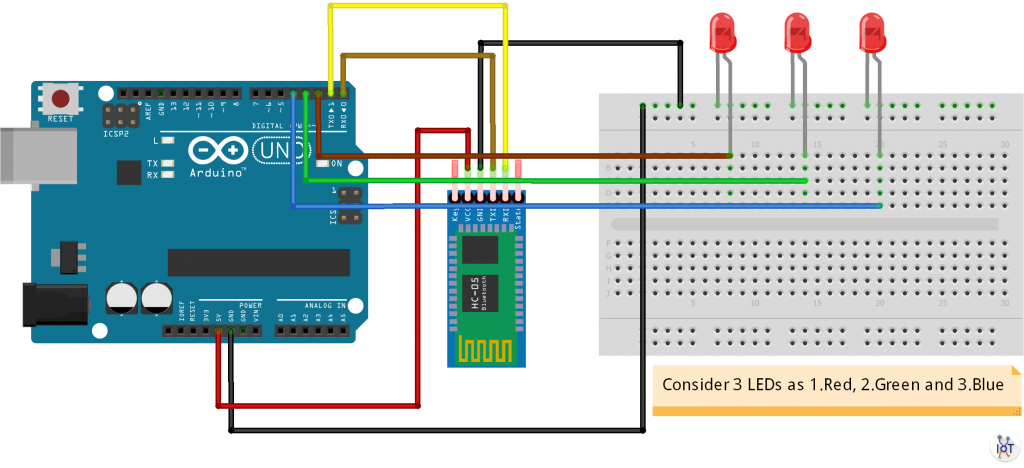 Control LED From Your Voice Command Using Arduino and HC-05