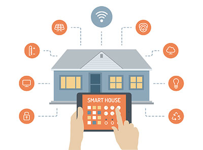 Internet of Things is being used in home automation sectors