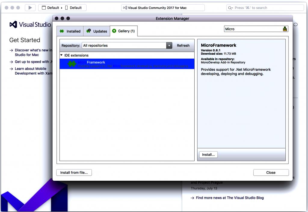 Netduino Installation for Mac OS