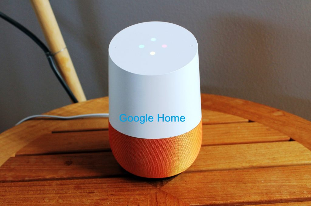 differenct model of Google Home speakers