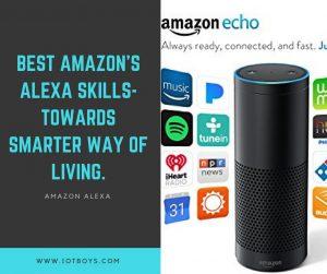 Best Amazon's Alexa Skills-Towards Smarter Way of Living (1)