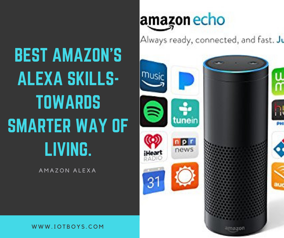 Best Amazon's Alexa Skills-Towards Smarter Way of Living (1)