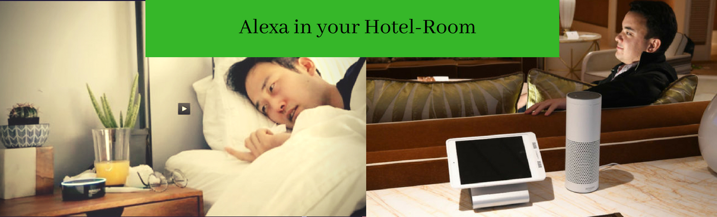 Amazon now brings Alexa to hotels