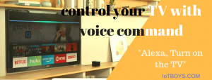 control your TV with voice command
