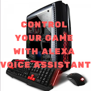 control your game with Alexa voice assistant